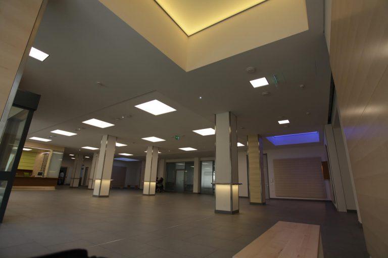 3 LED Lichtdecke Satelite München