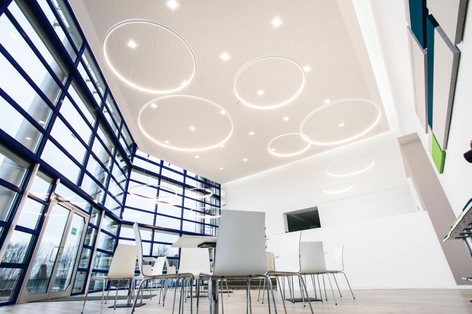 4 LED Pendelleuchten Loop Line in Deutschland