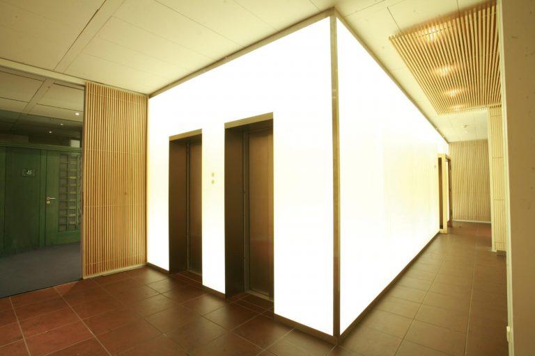LED Lichtglaswand Ditzingen