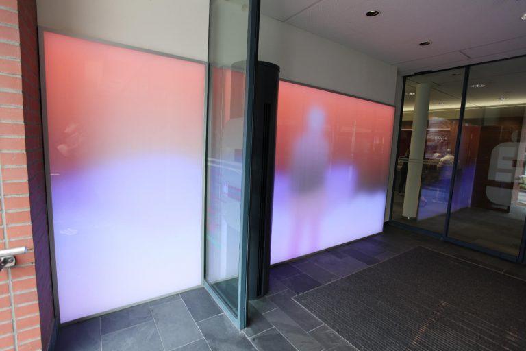 LED Lichtglaswand Gevelsberg