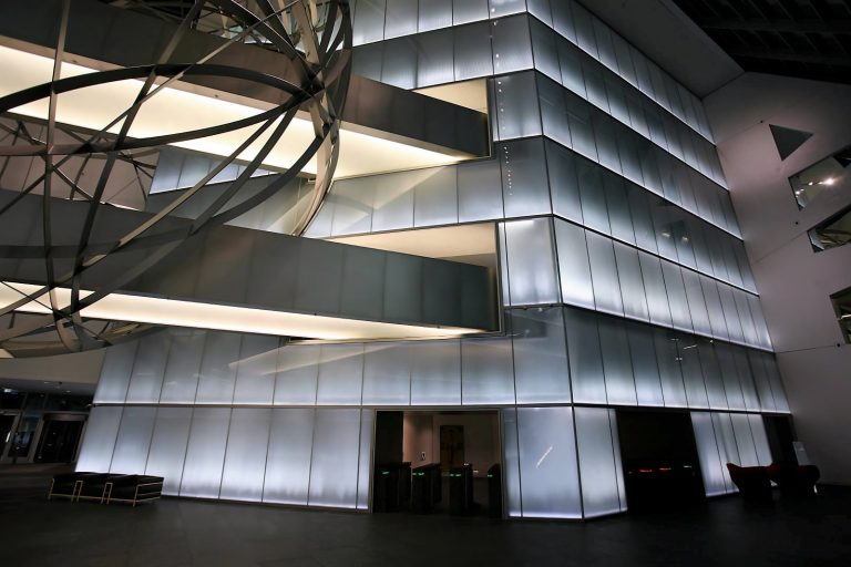 LED Lichtsysteme Bank Frankfurt